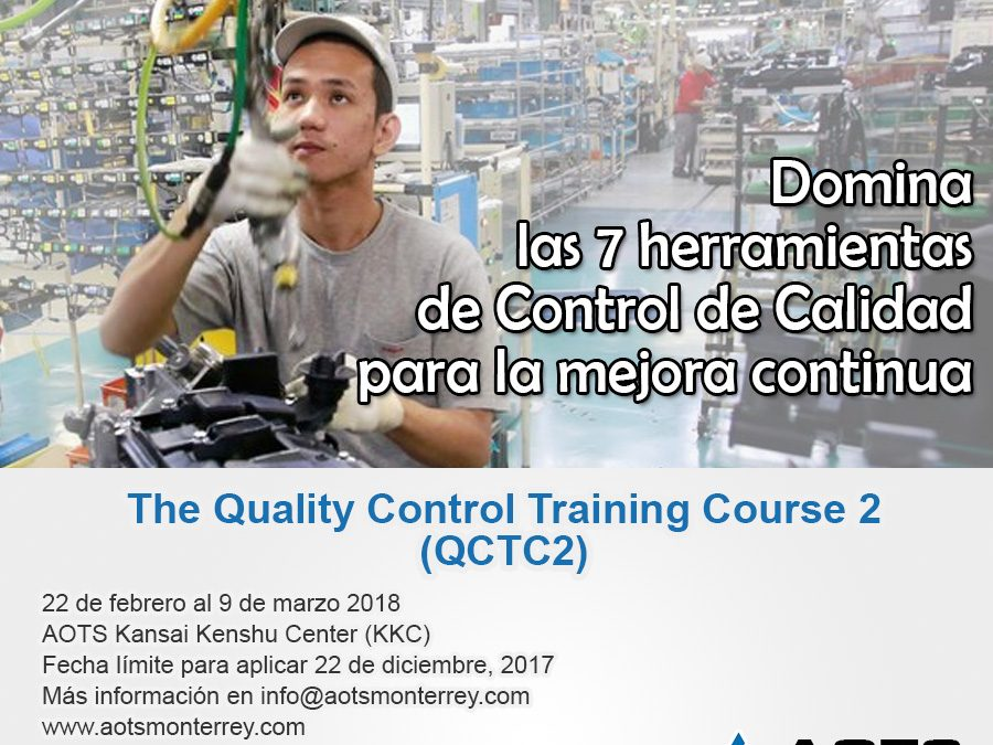 QCTC2 – Quality Control Training Course 2